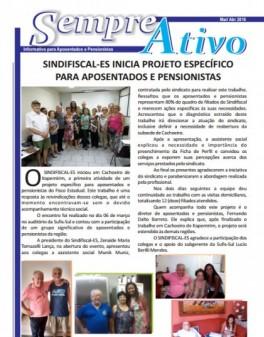 Informativo para Aposentados e Pensionistas - Mar/Abr 2016